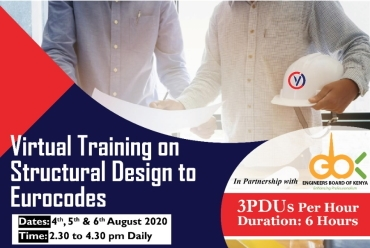 EBK CPD Virtual Training on Structural Design to Eurocodes
