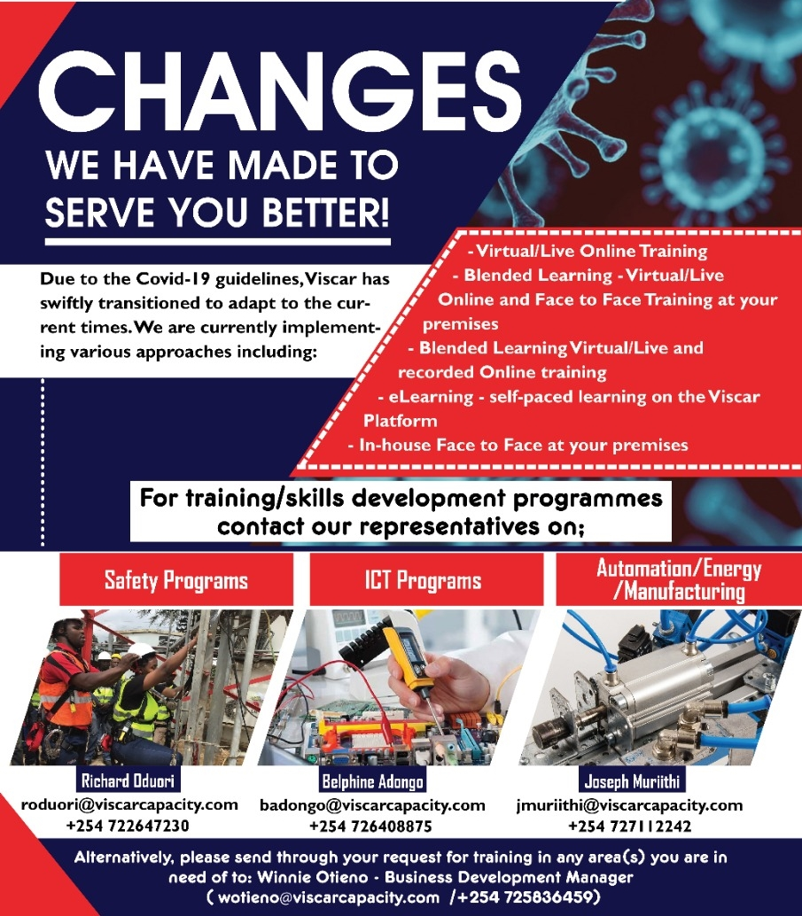 changes we have made to serve you better