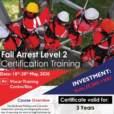 Fall Arrest Level 2 Certification Training