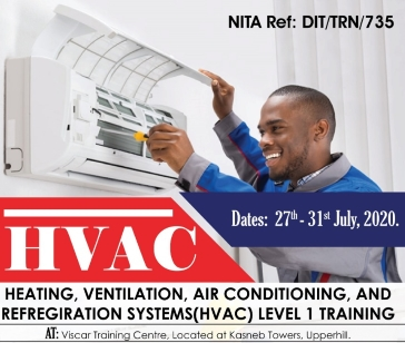 Heating,Ventilation,Air conditioning and Refrigeration Systems Level 1 Training