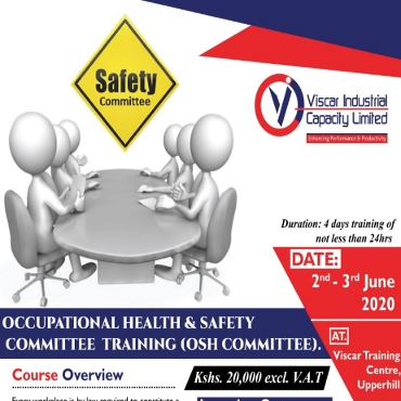 Occupational Health and Safety Committee Training
