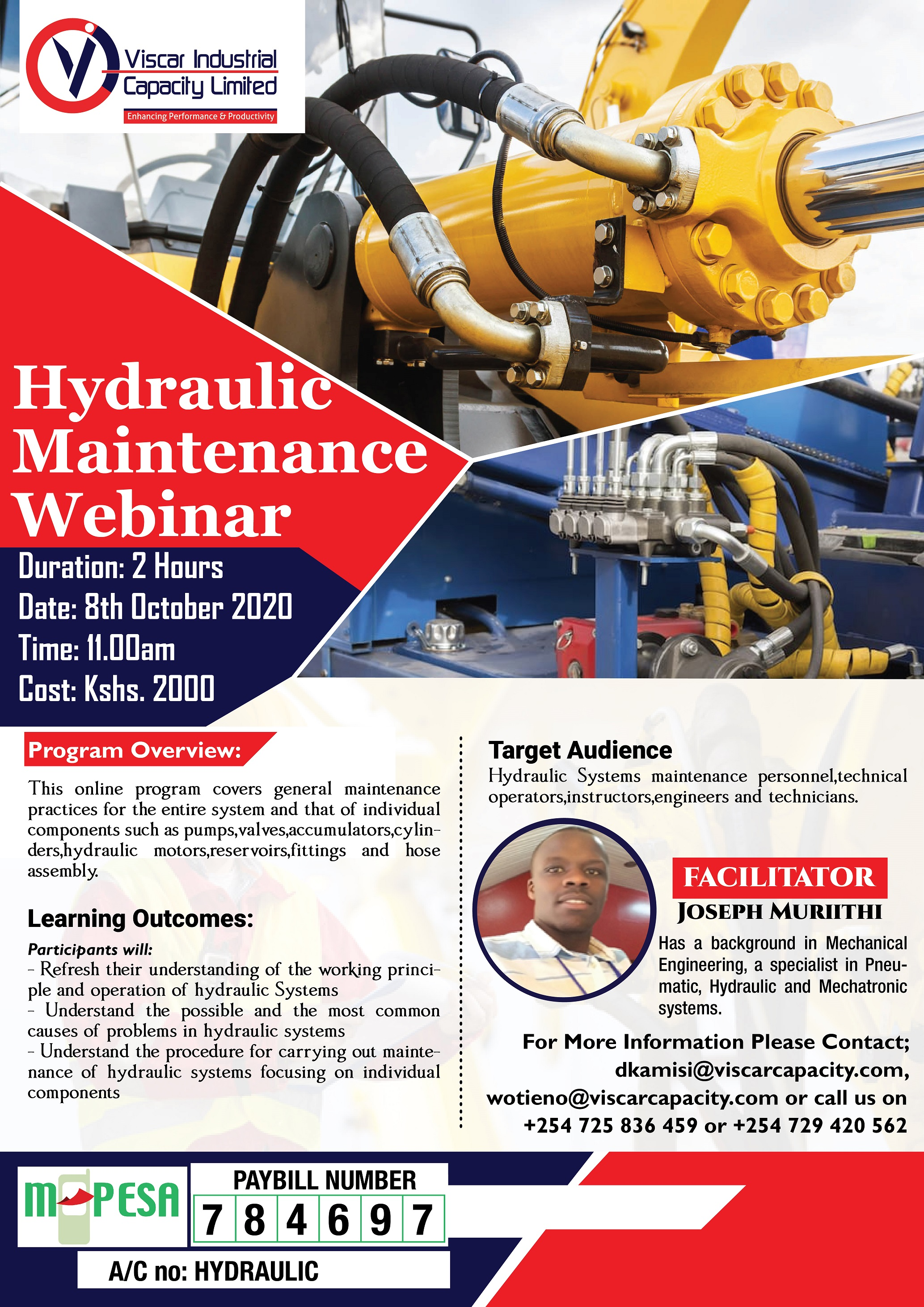 HYDRAULIC SYSTEMS MAINTENANCE WEBINAR