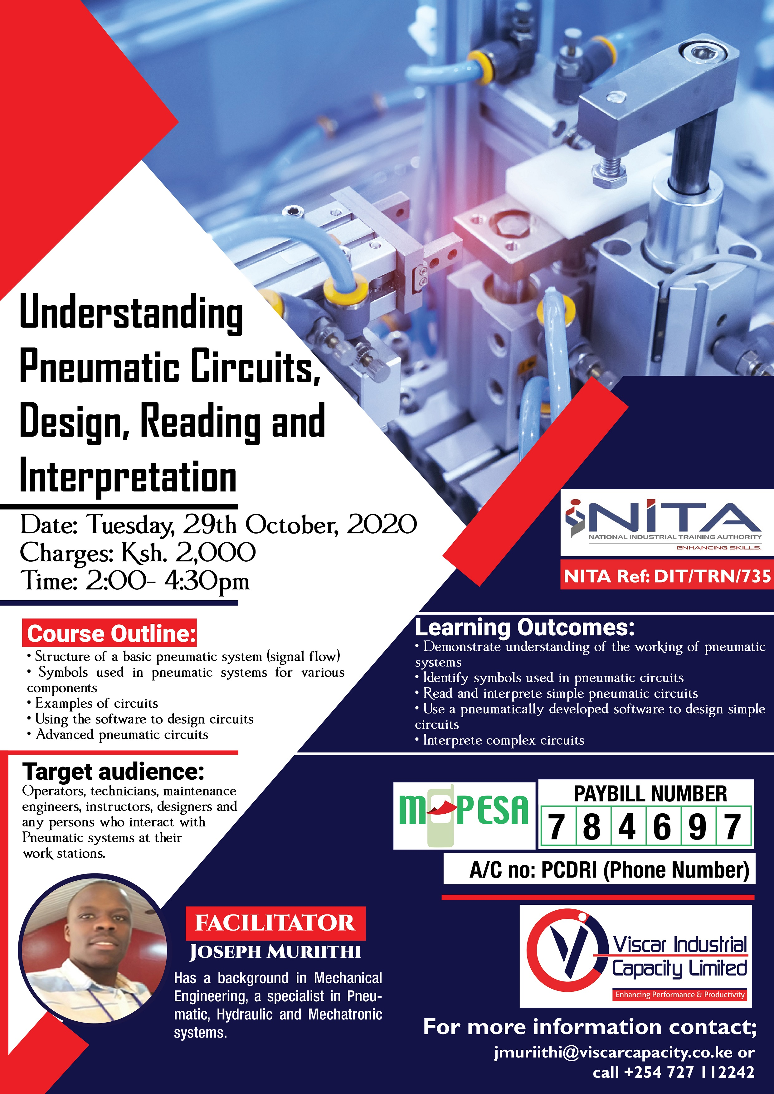 Webinar on Understanding Pneumatics Circuits Design, Reading and Interpretation