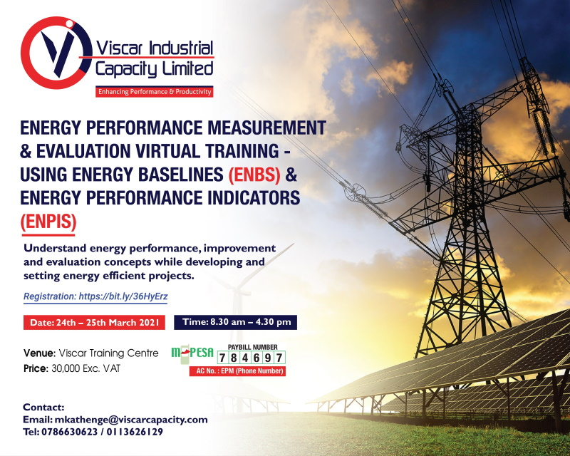 Energy Performance Measurement and Evaluation Virtual Training - Using EnBs and EnPIs
